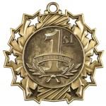 JDS-Ten Star Medal - 1st Place/Gold