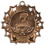 JDS-Ten Star Medal - 3rd Place/Bronze