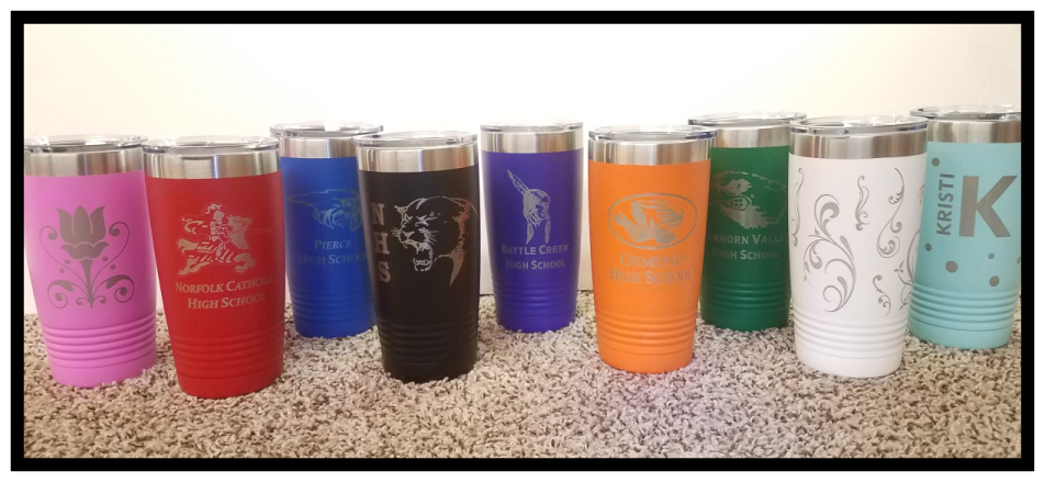 Polar Camel Insulated Tumblers. Many Colors. Customize the way you want!